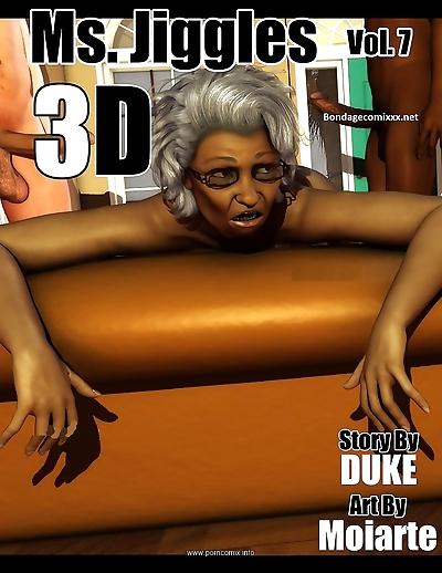 Ms Jiggles 3D – Vol 7-..