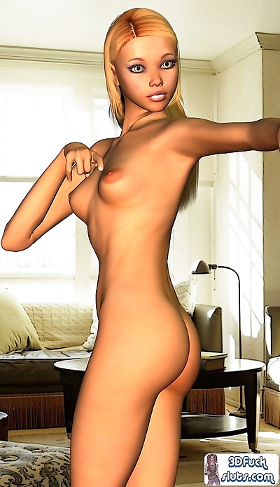 Toon girl naked poses - part..