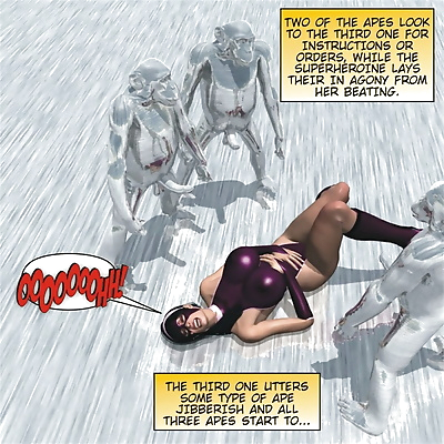 Captured Heroines- Horrible..