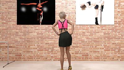 Pat Pole Dancers 1 - part 2