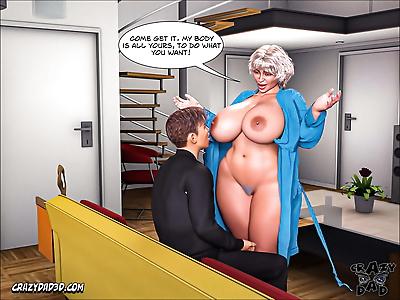 Crazy Dad 3D Mother Desire..