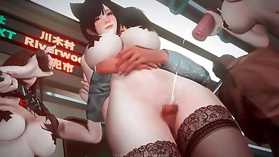 susu 电车派对 - part 3