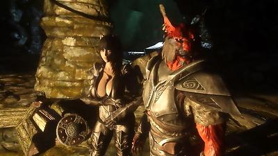 My Skyrim Demon kajiit and..