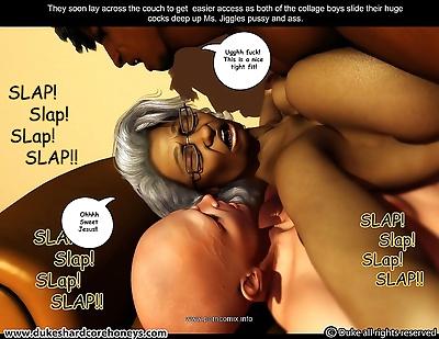 Ms Jiggles 3D – Vol..