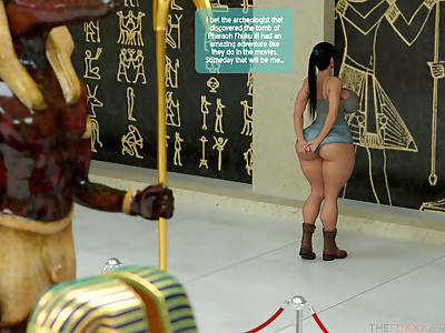 The Foxxx- A Horny Mummy In..