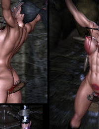Beastslayer Bikini NINJA - Nightmare in the Abandoned Castle - part 2