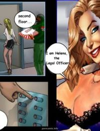 Interracial3D- Jennifer the Secretary