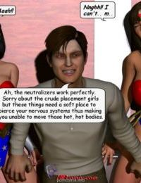 SuperHeroineCentral- Elevator Ambush