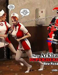 New Arkham for Superheroines 4 - New Management