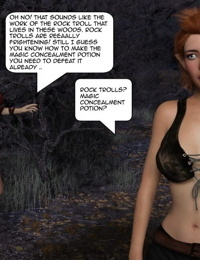 Freya and the mischievous Fairy