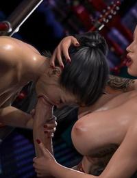 3DSimon My StepMom Is A DickGirl 3: The Kinky Room - part 2