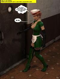 DBComix New Arkham for Superheroines 7 - New Employees