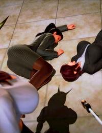 Shiguma Female teacher capture and torture