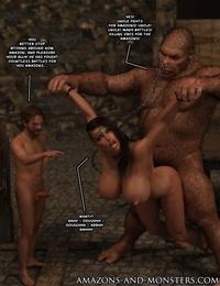 Amazons-vs-Monsters Close Allies - part 3