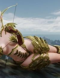 animated Skyrim BAD END: Pearl the Snow Elf