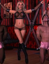007Fanatic Female Domination Ballbusting & Chastity Cock Art