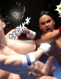 Squarepeg3D The F.U.T.A. - Match 06 - Freia vs ChiAna Morinaga - part 2