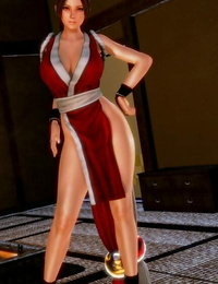 Mai Shiranui after losing a fight and found her self in a messy situation
