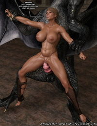 Amazons-vs-Monsters Prophecy