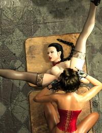 Bobbytally The Wondeful Sexlife of Maya & Megan 1 - 4 - part 4