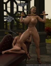 Amazons-Vs-Monsters Three Queens - part 5